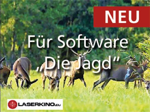"""Zusatzszenen für die Software """"Die Jagd"""""""