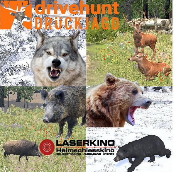 DriveHunt-Wolf-Rotwild-Schwarzwild-Bär